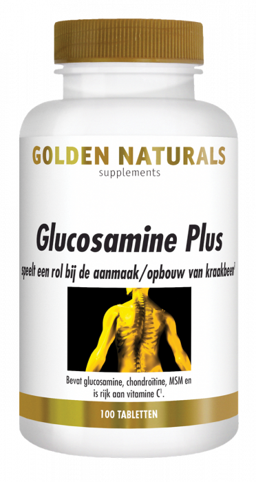 Golden Naturals Glucosamine Plus 100 tabletten