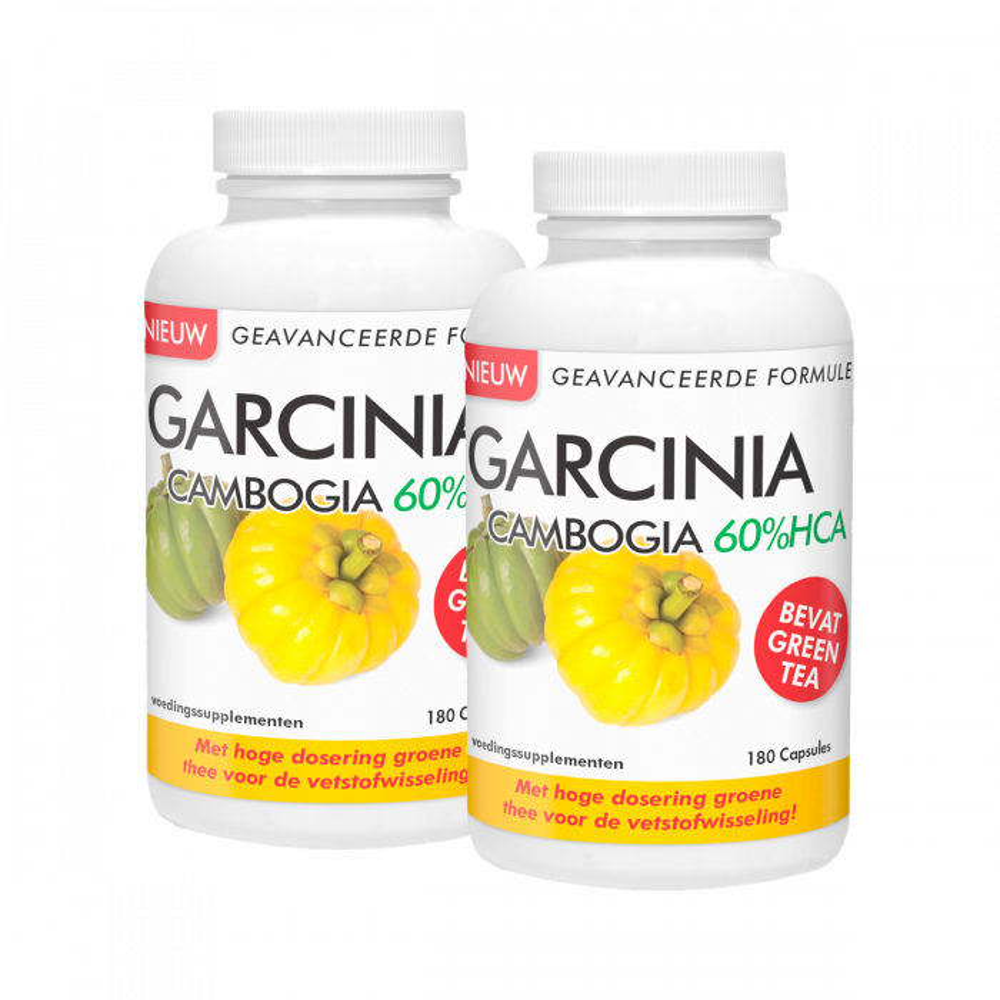 Natusor Duopakket Garcinia Cambogia 60%HCA 2 x 180 capsules