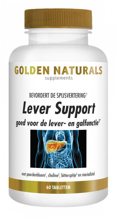 Golden Naturals Lever Support 60 vegetarische tabletten