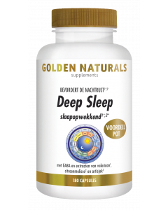 Golden Naturals Deep Sleep 180 vegetarische capsules