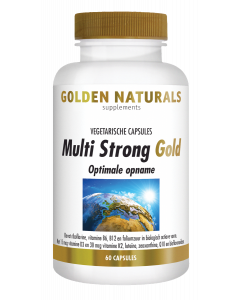 Golden Naturals Multi Strong Gold 60 vegetarische capsules