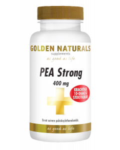 Golden Naturals PEA Strong 400 mg 30 vegetarische capsules