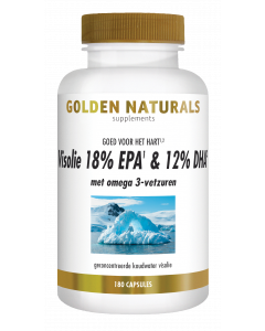Golden Naturals Visolie 18% EPA & 12% DHA 180 softgel capsules