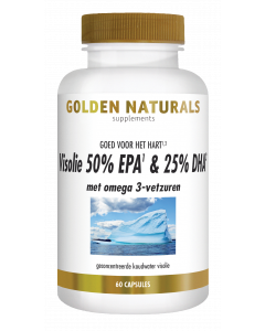 Golden Naturals Visolie 50% EPA & 25% DHA 60 softgel capsules