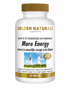 Golden Naturals More Energy 90 vegetarische tabletten