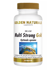 Golden Naturals Multi Strong Gold 30 tabletten