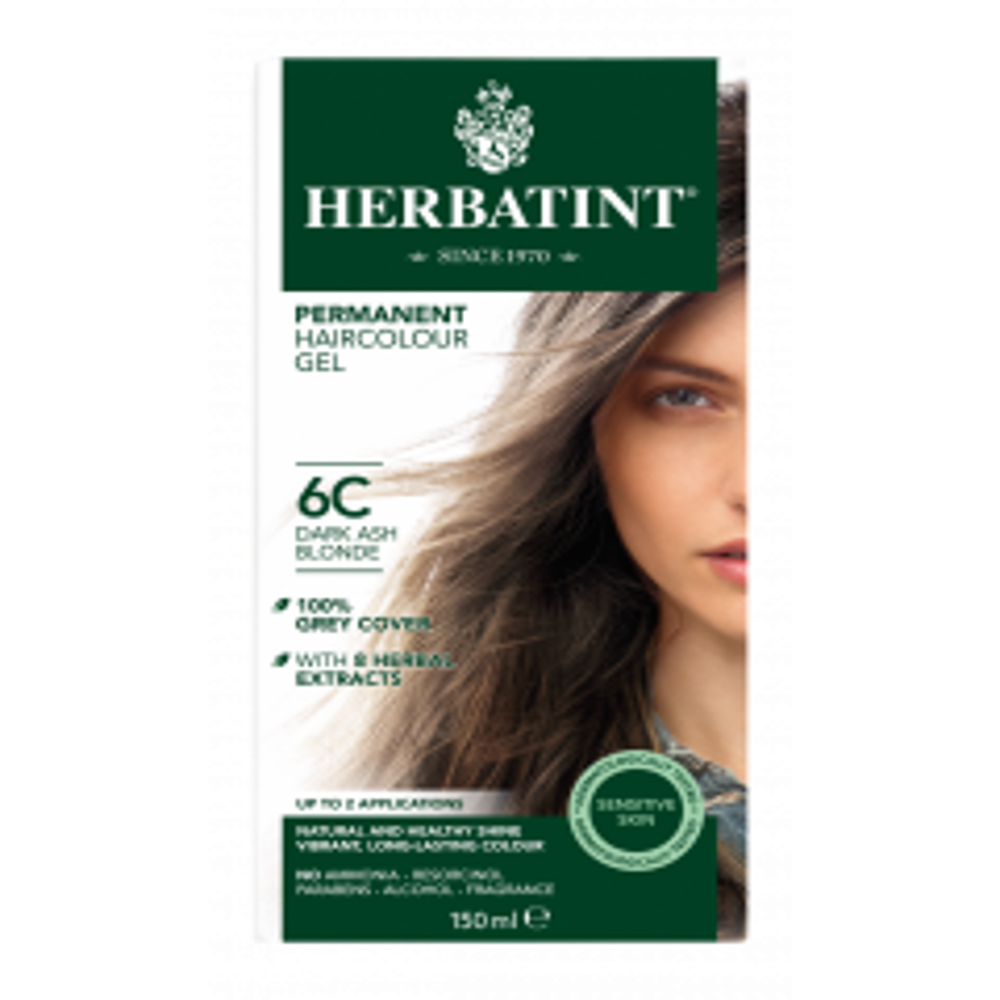 Herbatint 6C Dark Ash Chestnut 150 milliliter