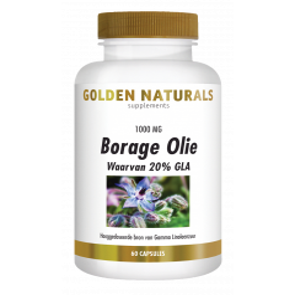 Golden Naturals Borage Olie 60 capsules