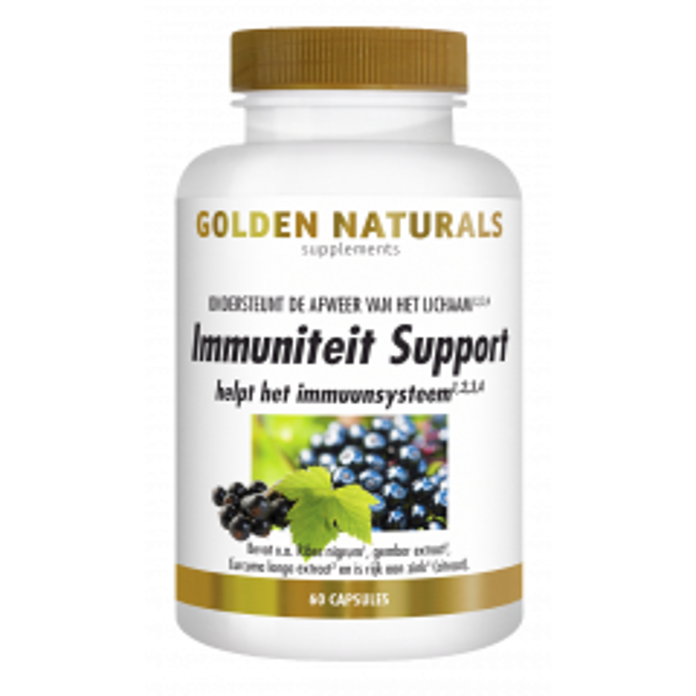 Golden Naturals Immuniteit Support 60 capsules