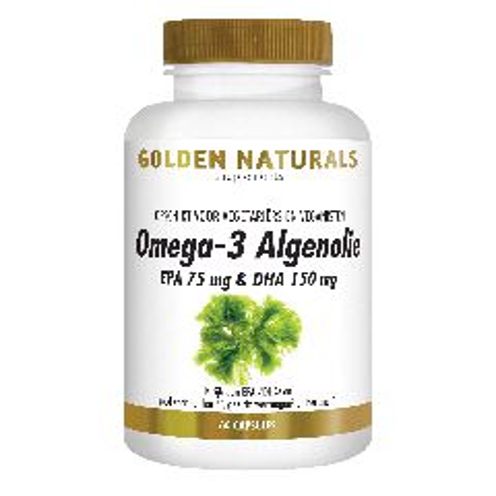 Golden Naturals Omega-3 Algenolie 60 liquid capsules