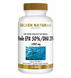 Golden Naturals Visolie EPA 50%/DHA 25% 1000 mg 60 capsules