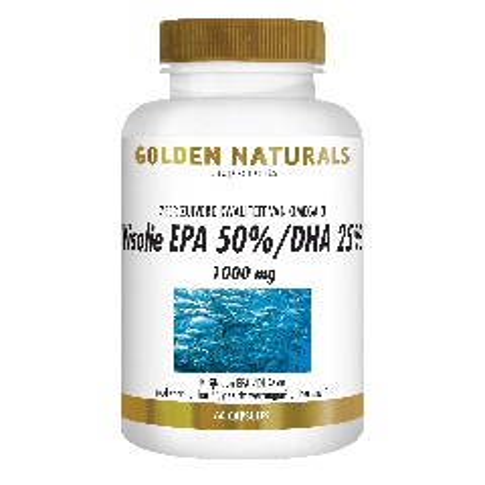 Golden Naturals Visolie EPA 50%/DHA 25% 1000 mg 60 capsules