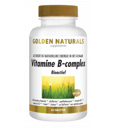 Golden Naturals Vitamine B-complex 60 tabletten