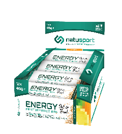 NatuSport Energy Performance Bar Oat&Fruit - Citrus Fruit 12 x 46 gram