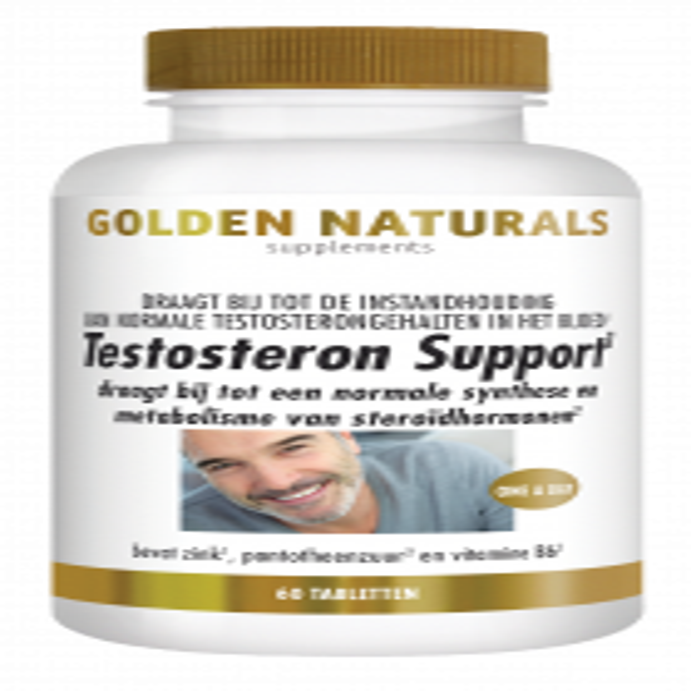 Testosteron Support 60 veganistische tabletten