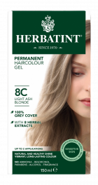 8C Light Ash Blonde 150 milliliter