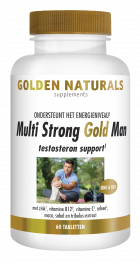Multi Strong Gold Man 60 vegetarische tabletten