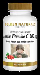 Acerola Vitamine C 500 mg 100 veganistische zuigtabletten