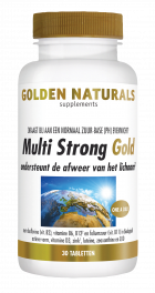Multi Strong Gold 30 tabletten