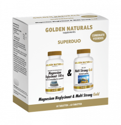 Magnesium Bisglycinaat + Multi Strong Gold 1 duoset