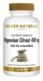 Magnesium Citraat 400 mg 60 veganistische tabletten
