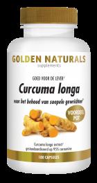 Curcuma Longa 180 veganistische capsules