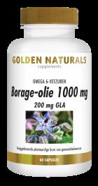 Borage-olie 1000 mg 60 capsules