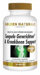 Soepele Gewrichten & Kraakbeen Support 180 tabletten