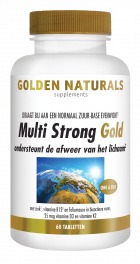 Multi Strong Gold 60 vegetarische tabletten