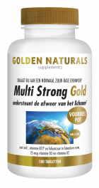 Multi Strong Gold 180 vegetarische tabletten