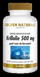 Krillolie 500 mg 60 softgel capsules