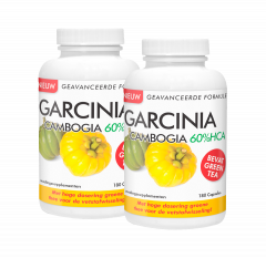 Duopakket Garcinia Cambogia 60% HCA 2 x 180 capsules