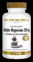 Multiple Magnesium 200 mg 180 veganistische tabletten
