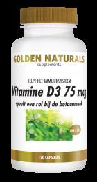 Vitamine D3 75 mcg 120 softgel capsules