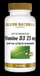 Vitamine D3 25 mcg 120 softgel capsules