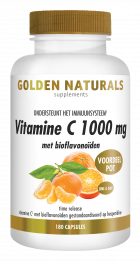Vitamine C 1000 mg met bioflavonoïden 180 veganistische tabletten