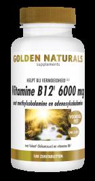 Vitamine B12 6000 mcg 180 veganistische zuigtabletten