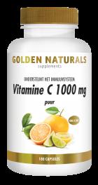 Vitamine C 1000 mg puur 180 veganistische capsules