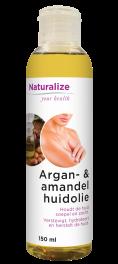 Argan- & amandelhuidolie 150 milliliter