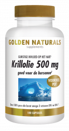 Krillolie 500 mg 180 softgel capsules