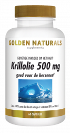 Krillolie 500 mg 60 softgel capsules
