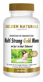 Multi Strong Gold Mama 60 vegetarische capsules
