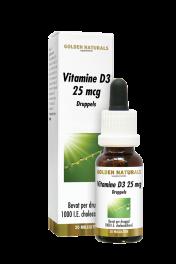 Vitamine D3 25 mcg druppels 20 milliliter