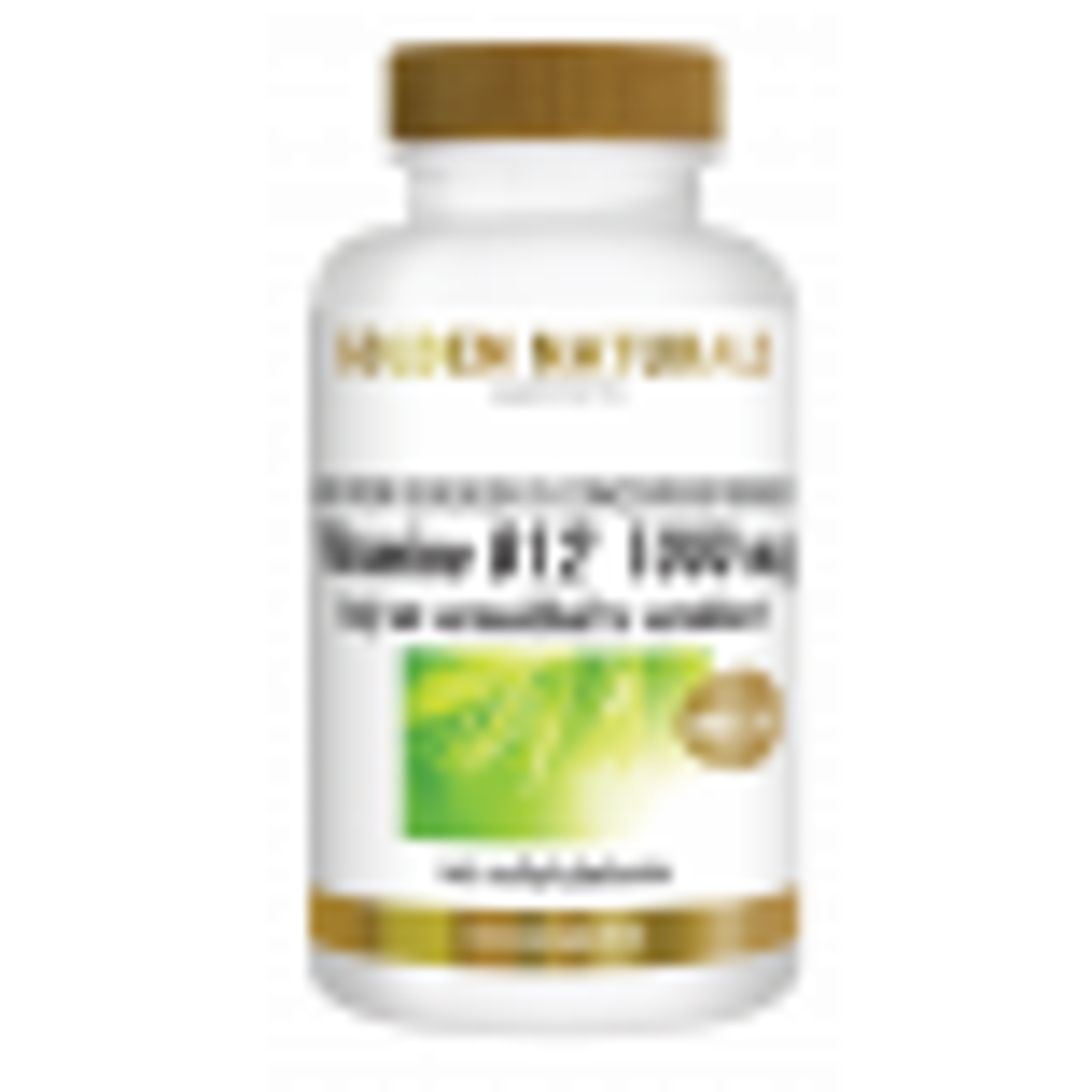 _Golden Naturals Vitamine B12 1000 mcg 100 vegetarische zuigtabl GN-486