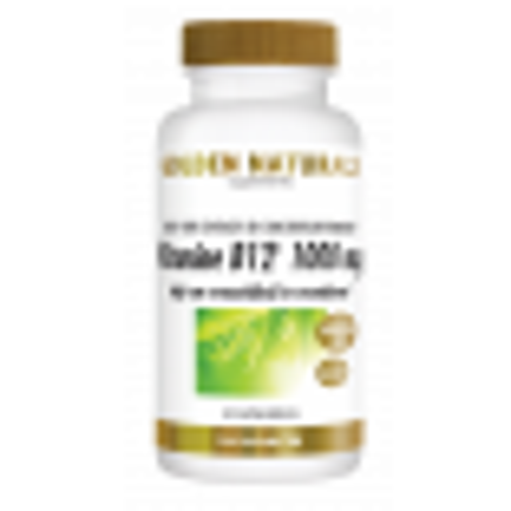 _Golden Naturals Vitamine B12 1000 mcg 240 vegetarische zuigtabl voordeelpot GN-487