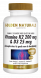 Golden Naturals Vitamine K2 200 mcg & D3 25 mcg 180 vega caps GN-520-05