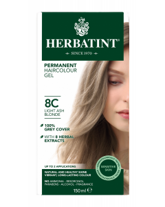 Herbatint 8C Light Ash Blonde 150 milliliter