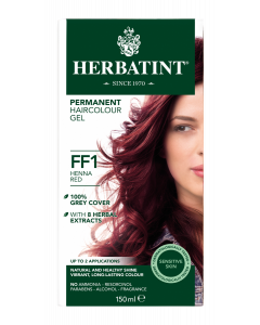 Herbatint FF1 Flash Fashion Henna Red 150 milliliter