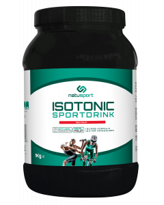 NatuSport Isotonic Sportdrink - Red Fruit Pot à 1 kilogram