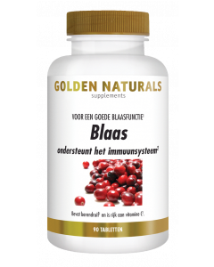Golden Naturals Blaas 90 tabletten